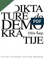 61111560 Dzin Sarp Od Diktature Do Demokratije