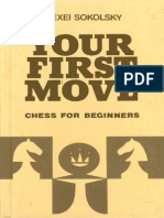Your First Move Chess for Beginners Alexei Sokolsy