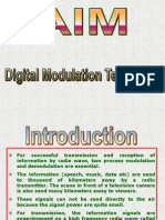 Digital Modulation Tech