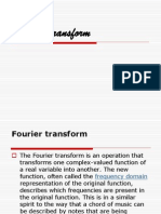Fourier Transform PropertieZs