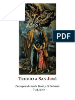 triduo a san José