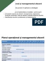 Planul operațional