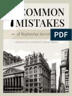 7 Mistakes E-Book