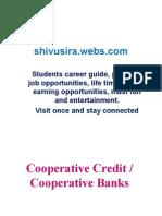 Cooperative Credit