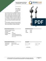 CHAVE DE NIVEL TIPO BOIA MAGNETICA MINIATURA - TECNOFLUID CT‐CB02‐00382
