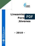 Lineamientos_Foros_de_Jóvenes_2010
