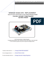 Newage Sx460 Automatic Voltage Regulator