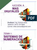 Tema 1.1 - Sistemas Digitales - Sistemas de Numeracion