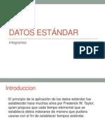 Datos estándar