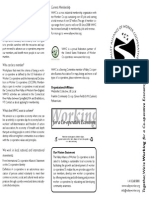 Valley Alliance of Worker Co-operatives Information Brochure