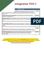 TCC I_Cronograma de orientações de TCC I_2014_1 Copy