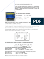Comparison Between Lead Acid Batteries and Fuel Cell