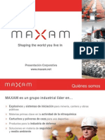Presentación MAXAM 2012