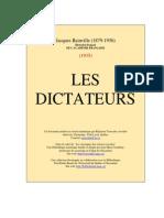 BAINVILLE, Jacques-Les Dictateurs