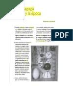 """Antelo ;Estanislao """"La pedagogía y la época"""" en Serra, Silvia (comp) La pedagogía y los imperativos de la época."""