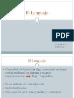 Clase 1_El Lenguaje