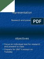 Representation Revision 2