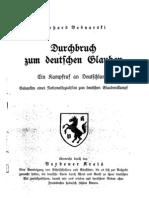 Bednarski, Gerhard - Durchbruch zum deutschen Glauben (1941)