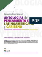 ConvocatoriaAntologias2014 clacso