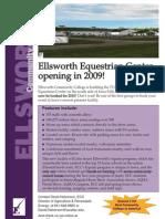 Ellsworth Community College's new Equestrian Center!