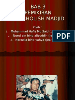 Pemikiran Nurcholish Madjid Edited