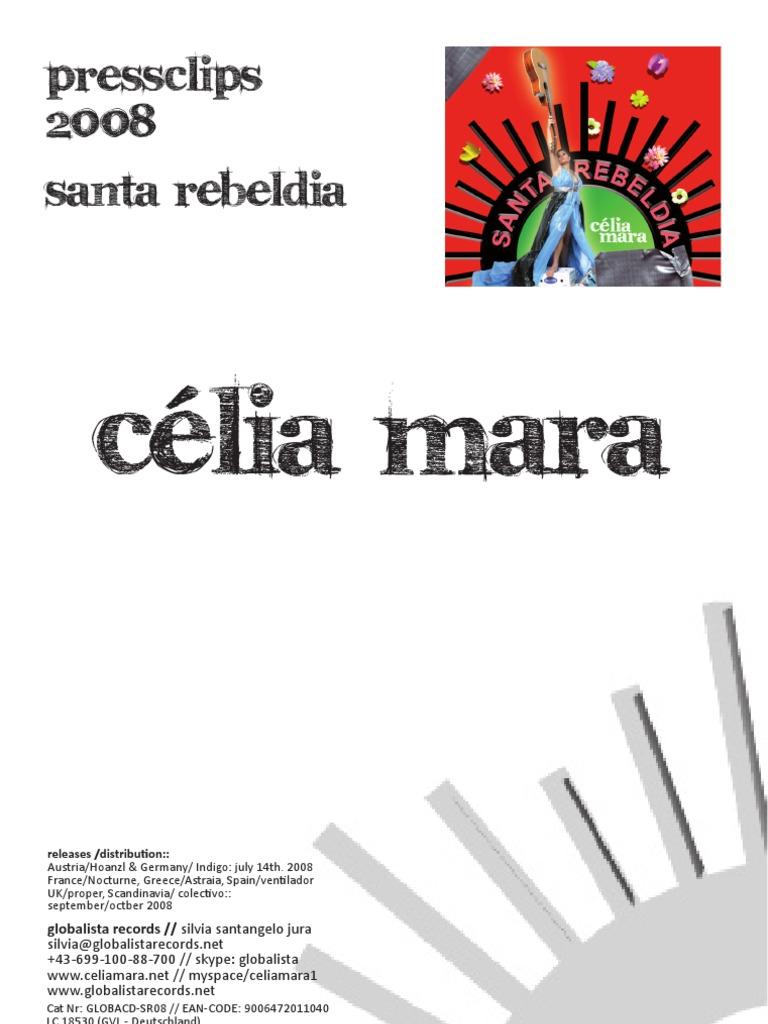 Santa Rebeldia By Célia Mara Pressclips Performing Arts