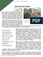 Conheça SP - Portal do Governo do Estado de São Paulo