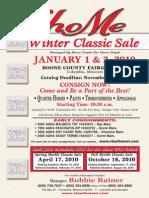 ShoMe Winter Classic Sale - Equine Event