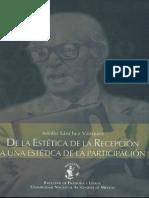 ASanchez V- De la estética de la recepción a una estética de la participación
