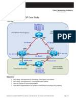 CCNPv6 ROUTE Lab6-5 BGP Case Study Student Form