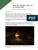 Artigo sobre o sistema Solar