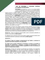 Decreto de Ley General de Educacion