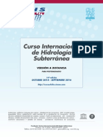 14º Curso Internacional de Hidrología Subterránea, versión a distancia