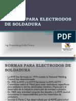 Normas Para Electrodos de Soldadura