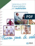 vademecum 2013 nutrición