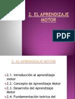 UD 2 Aprendizaje Motor