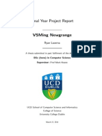 UCD Computer Science Final Year Project Report