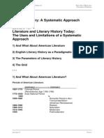 English Literary History as a Paradigmatic Case