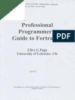 ProfessionalProgrammer'sGuideFortran77