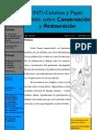 Boletín sobre conservación y restauración n.6-2009