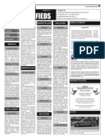 Claremont COURIER Classifieds 3-7-14
