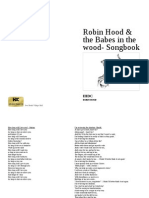 Robin Hood 2015 Songbook