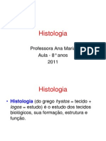 Aula de Histologia Do 8 c2ba Ano