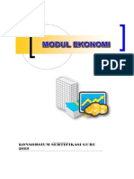 Modul Ekonomi Konsorsium Guru PLPG