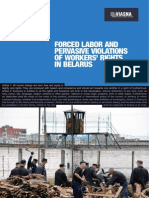Forced Labor in Belarus FIDH&Viasna report