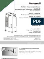 Cs071ae Honeywell Portable Air Cooler 7 Liter