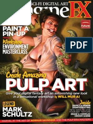 Imaginefx 2012 09 Pulp Magazine Art Media