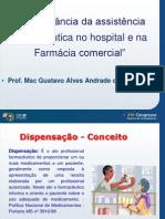 Papel Do Farmaceutico Gustavo Alves Andrade CRF
