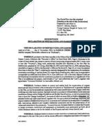 rmc - declaration - 2004 11 18 1