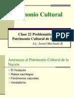 022 Problemática del Patrimonio Cultural de la Nación